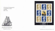 24 SEPTEMBER 2002 ASTRONOMY PANE ROYAL MAIL FIRST DAY COVER STAR GLENROTHES SHS