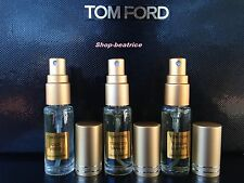 3 TOM FORD TOBACCO VANILLE*OUD WOOD*TUSCAN LEATHER 5ml SPRAY