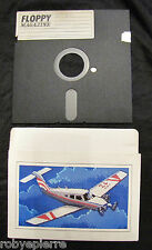 Floppy disc 5.25 inch 5 1/4 Commodore 64 Floppy Magazine con aereo da turismo