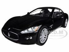 MASERATI GRAN TURISMO BLACK 1/24 DIECAST CAR MODEL BY MOTORMAX 73361
