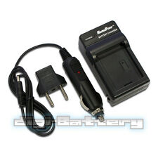 Battery Charger For OLYMPUS PS-BLM1 Evolt E-300 E-330 E-500  Wall + Car + USB