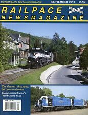 Railpace NewsMagazine September 2013 Vol 32 No 9 The Everett Railroad 30 Years