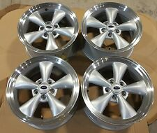 "Factory OEM 17"" Wheel Fits 2005-2009 Ford Mustang Sparkle Silver SET OF 4 3589B"
