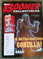 Baby Boomer Collectibles Mag V3 #5 1996 GODZILLA JOHNNY QUEST Sports Illustrated