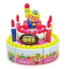 PORORO Melody Happy Birthday Cake Toy  KOREA TV Animation Character