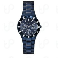 Montre Iconic GUESS W0027L3 BLUE-TONE HIGH-SHINE FEMININE SPORT WATCH
