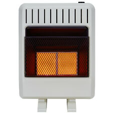 New 20k BTU Vent Free Infrared Propane/Natural Gas Heater with Tstat and Blower
