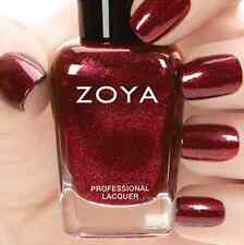 ZOYA ZP755 INDIA Ignite Collection~ deep gold red metallic nail polish *NEW