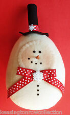 CHRISTMAS DECORATIONS - ROLY POLY SNOWFLAKE SNOWMAN