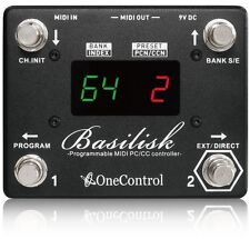 One Control Basilisk Programmable MIDI Switcher Controller New Strymon Eventide
