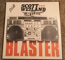 Scott Weiland & the Wildabouts *SIGNED* LP Stone Temple STP PSA #Y90568 Vinyl
