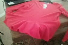NWT Antonio Melani Mum 100% Cashmere  Carolina  Sweater  Size L  MSRP $129