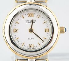 Van Cleef & Arpels Women's Two-Tone Stainless Steel 18k Gold LA Collection Watch