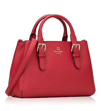 Kate Spade PROVENCE COVE STREET Red Leather Satchel  $428 Gorgeous!!! NWT