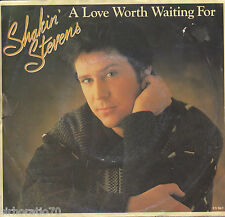 SHAKIN' STEVENS A Love Worth Waiting For / As Long As (Live) 45