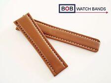 BOB ECHTLEDER FALTSCHLIESSENBAND Kompatibel mit Breitlingfaltschließe 22-20 mm