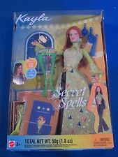Secret Spells Barbie Kayla NIB 2003 New