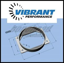 Vibrant Performance Mitsubishi Eclipse DSM EVO 4G63 Turbo MAF Adapter Plate