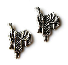 Saddle Cufflinks Pair, Gift Box Included, Guaranteed