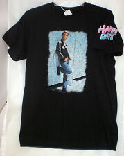 FONZIE HAPPY DAYS T-SHIRT BLACK LARGE NEW W/ TAGS