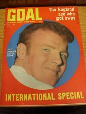 03/05/1969 Goal Soccer Weekly Magazine: No 039 - International Special, The Engl