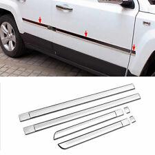 ABS Chrome Car Body Door Side Molding Trim -6pcs For 2011-2016 Jeep Patriot