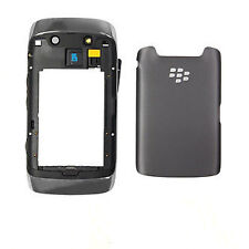 COVER ORIGINALE BLACKBERRY 9860 PARTE CENTRALE + BATTERYCOVER NERA