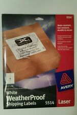 """Avery Shipping Labels 3-1/3"""" x 4""""- 300, 2 packs, fit templates 5164, 8164"""