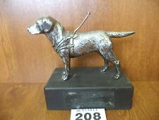 Rare Louis Lejeune Car Mascot or Figurine - Retriever / Guide Dog for the Blind