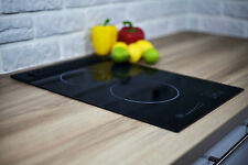 FLAMELESS GAS HOB GPC2+1 CERAMIC GLASS, BUILT-IN, APPROVED SELLER BY SOLGAZ