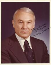 G. William Miller - Secretary of the Treasury Autographed 8x10 Photo and Letter