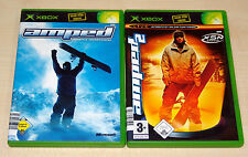 2 GIOCHI XBOX Set-AMPED & Amped 2-Freestyle Snowboard