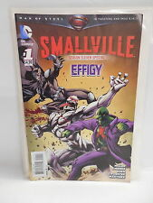 Smallville DC Comic Book Season 11 Eleven Special Effigy #1 Superman Batman