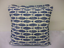 2 NEW NAUTICAL CUSHION COVERS IN HARLEQUIN SCION SAMAKI FISH