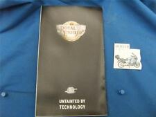 2005 New Royal Enfield Sales Brochure- Untainted By Technology            ADS264