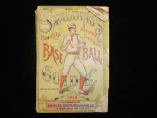 March 1914 Spalding's Official Baseball Guide