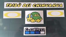 Valentino Rossi Decals Stickers for Helmet Visor (New) (5 Stickers)