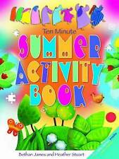 Ten Minute Summer Activity Book, James, Bethan, Very Good condition, Book