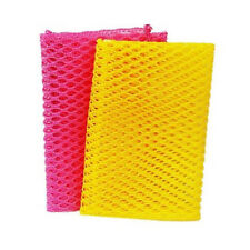 Dish Washing Net Cloths Perfect Scrubber for Cleaning Dishes Pink/Yellow 2PCS