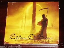 Children Of Bodom: I Worship Chaos - Limited Deluxe Edition CD DVD Set 2015 NEW