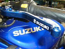 SUZUKI GS500E GS500F GSF 600S BANDIT LONG BLUE BRAKE CLUTCH LEVERS ROAD  R15D2