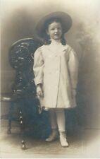 MEET GRACE SHAPLEY: PORTRAIT OF A SIX YEAR OLD LITTLE GIRL (VINTAGE RPPC)