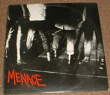 "MENACE screwed up*insane society 1977 UK ILLEGAL PUNK 12"" SINGLE"