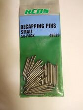 RCBS  Small Straight Decapping Pins, Pack of 50, same day shipping