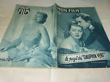LANA TURNER & RICHARD HART - DONNA REED - Magazine vintage MON FILM n°147 !!!