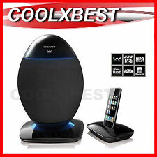 NEW SCOTT OVE 2.4Ghz WIRELESS SPEAKER SYSTEM SD USB AUX-in For PC TURNTABLE HiFi