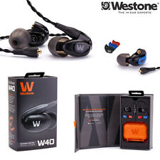 Westone W40 Quad-Driver Noise Isolating Earphones Monitors l Authorized Dealer