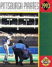 1993 Pittsburgh Pirates MLB Baseball YEARBOOK