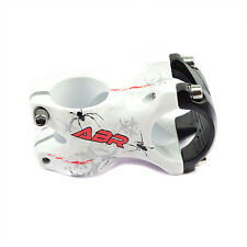 ABR Alloy 3D MTB Mountain Road Bike Bicycle Cycling Stem - 31.8 x 50 mm - White