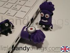Despicable Me 2 Evil Purple Minion 8GB USB Flash Drive Pen/Memory Stick Key Ring